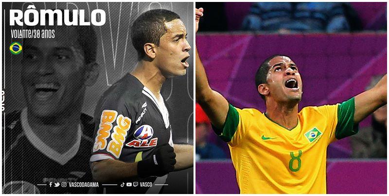 Vasco anuncia retorno do Piauiense Rômulo, campeão da Copa do Brasil em 2011