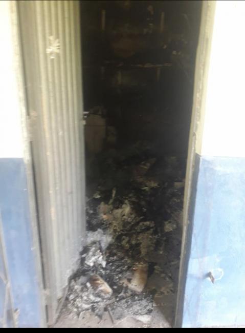Incêndio destrói Biblioteca de Escola na Zona Rural de União