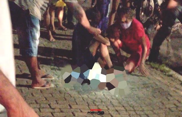 Motoqueiro atropela carrinho de bebê e mata criança de três meses em Teresina
