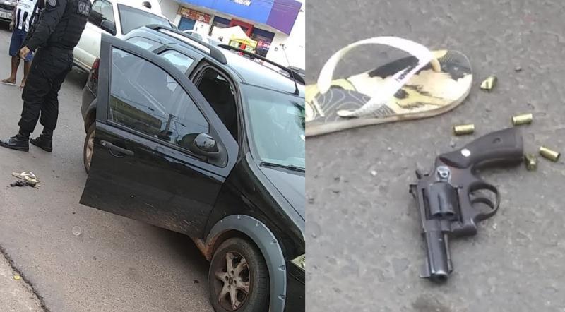 Assaltantes são mortos em confronto com policial, em frente à Rodoviária de Timon