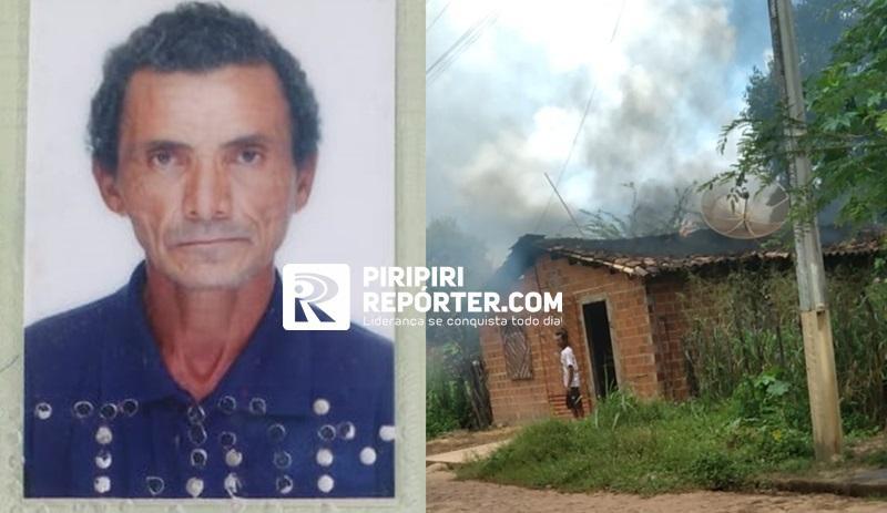 Homem que ateou fogo na própria residencia e feriu PM morre no Piauí