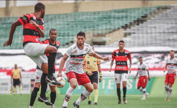 Clássico: Flamengo vence River por 3 a 2 em jogo movimentado no Albertão