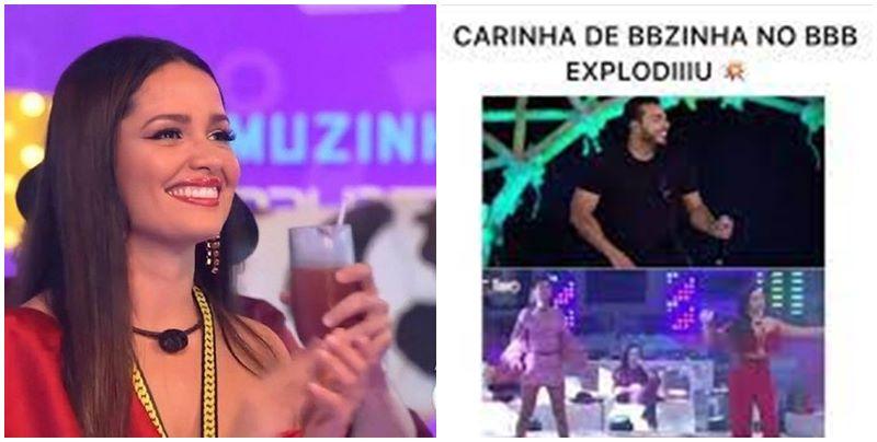 Juliette canta música de artista piauiense no BBB21 e busca dispara na web: 'Carinha de BBzinha'