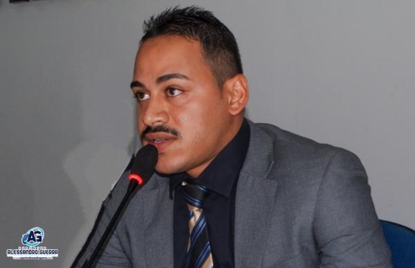 Vereador Henrique Guerra solicita instalação de agencia do INSS no município de Gilbués
