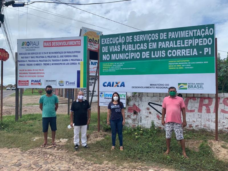 Prefeitura de Luís Correia inicia obras de pavimentação em paralelepípedo nesta segunda (3)
