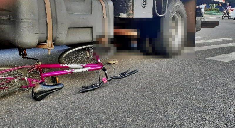 Mulher morre após ter cabeça esmagada por caminhão do Grupo Mateus na BR-343, no Piauí