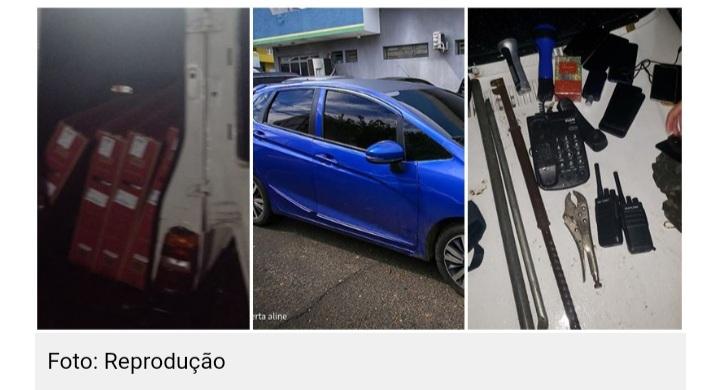 Bandidos roubam R$ 600 mil em mercadorias de transportadora em Teresina