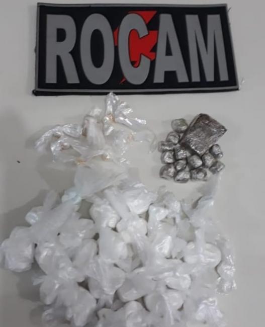 Casal é conduzido à Delegacia pelo crime de tráfico de drogas em Picos