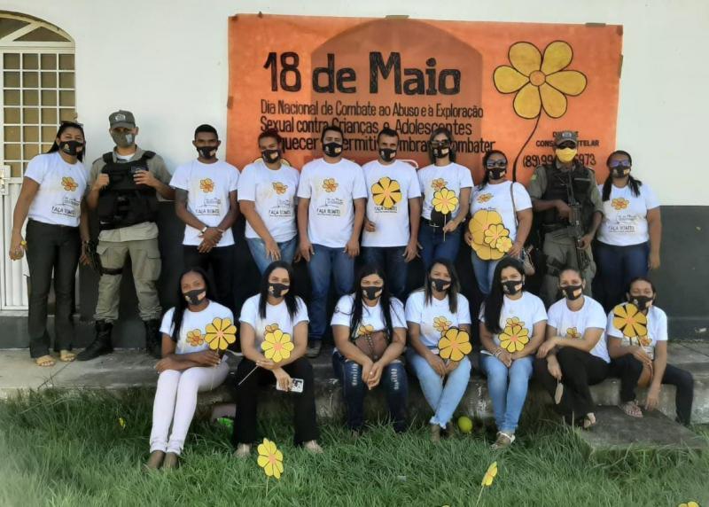 Mobilização em Eliseu Martins marca o Dia Nacional de Combate ao Abuso e Exploração Sexual Infantil