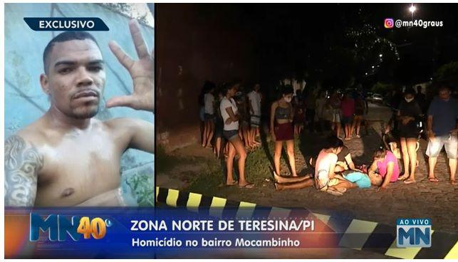 Filho de Policial Militar é assassinado a tiros na zona Norte de Teresina
