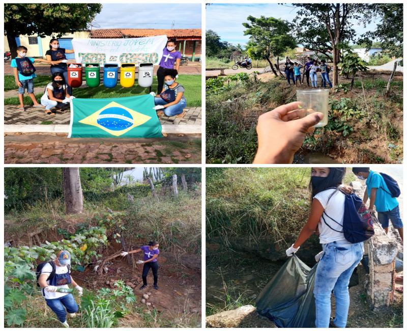 Ministério Jovem do Grupo de Oração São Pedro  realiza atividade voltadas  para o Meio Ambiente
