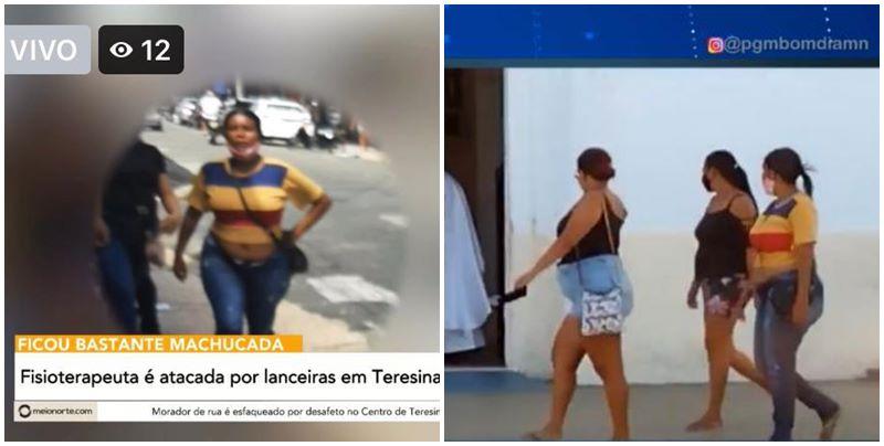 Filha de policial tem rosto desfigurado ao ser agredida por lanceiras em Teresina