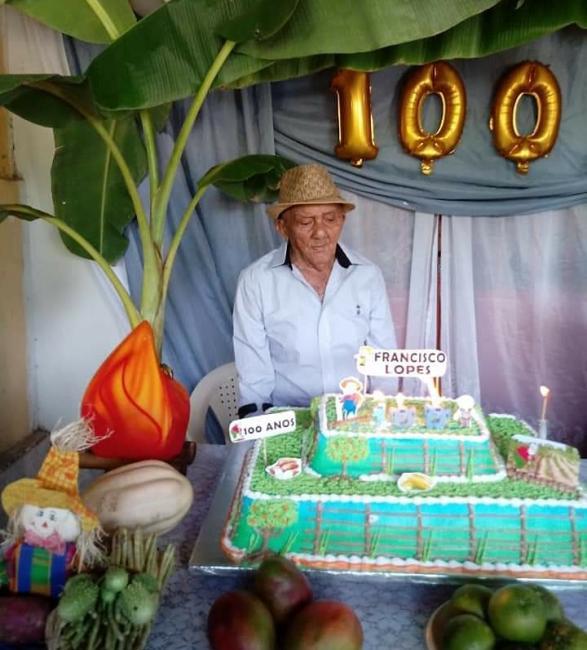 Nota de Falecimento: Morre aos 101 Anos  Francisco Lopes
