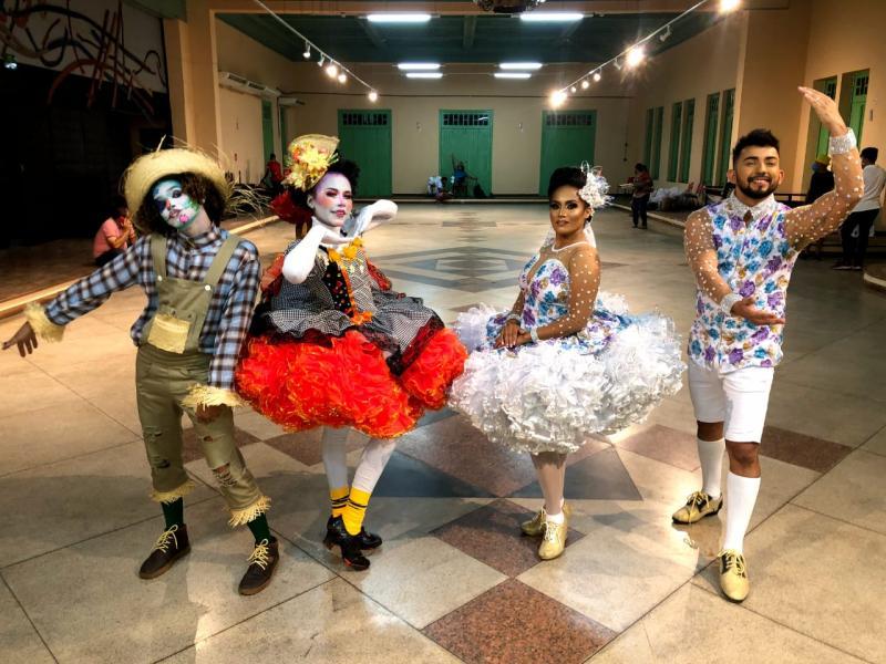 Grupo Fuzaca representa sul do Estado em Mostra Junina do Piauí