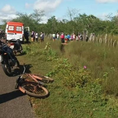 Homem morre após perder controle de motocicleta na PI-112