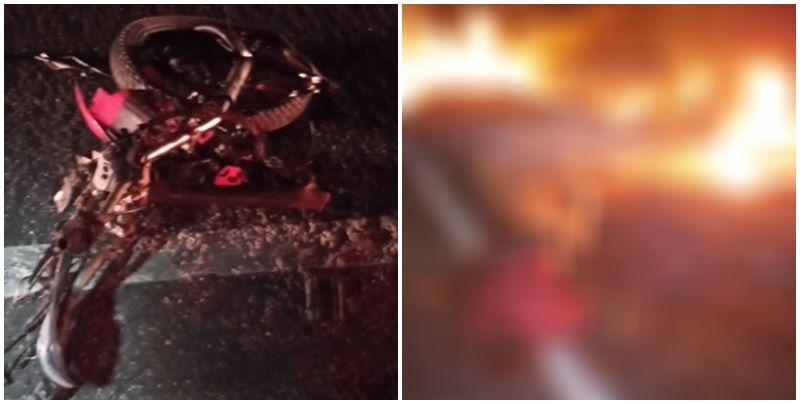 Homem morre ao colidir motocicleta em carreta na BR-316 no Piauí