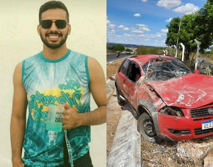 Estudante de engenharia de 23 anos morre em acidente no interior do Piauí