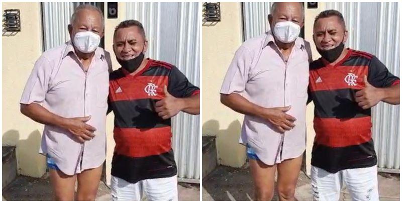 Vídeo de Dr Pessoa 'sem as calças' viraliza nas redes sociais: 'Boa noite'