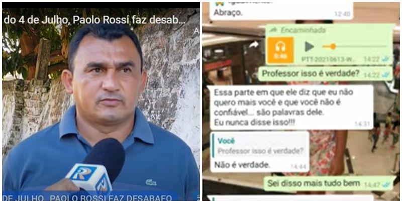 Auxiliar técnico demitido do 4 de Julho expõe áudio no WhatsApp sendo humilhado