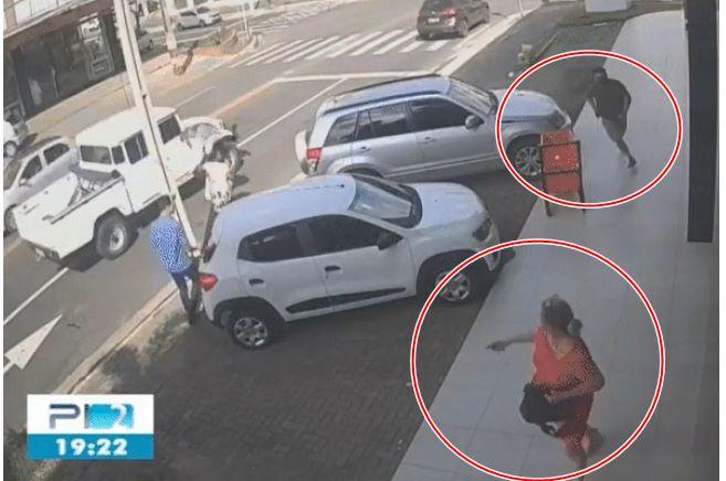 Vídeo mostra momento em que mulher é morta pelo ex-marido em Teresina