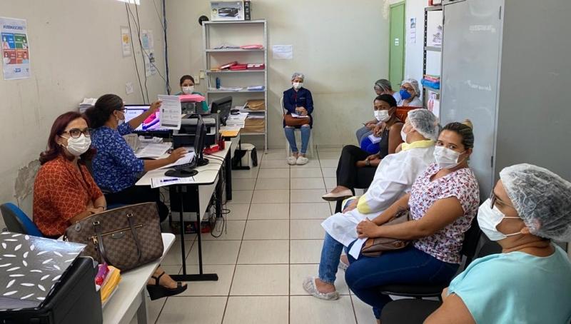 Secretaria de Saúde de Cabeceiras prepara o calendário de vacinação das pessoas de 18 a 59 anos