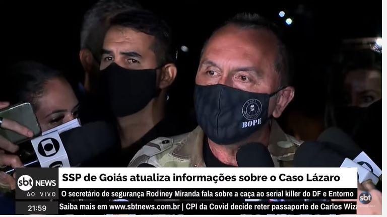 Ao vivo: SSP de Goiás atualiza informações sobre o Caso Lázaro