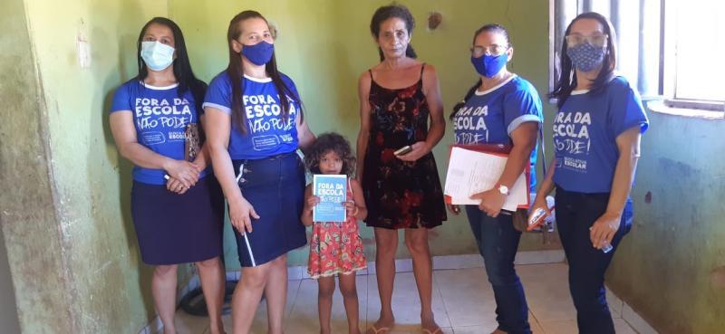 Secretaria de Educação faz busca ativa para combater evasão escolar de alunos na rede municipal