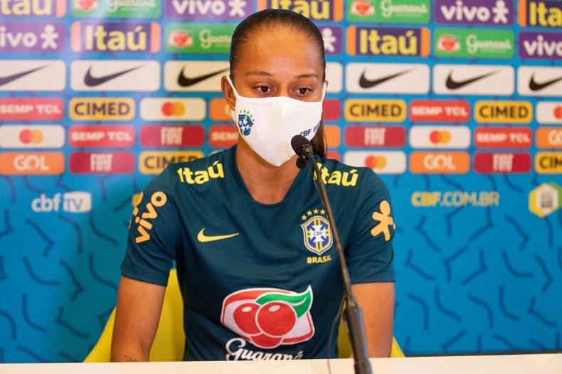 Piauiense Adriana está na lista final da Seleção Feminina para Olímpiadas de Tóquio