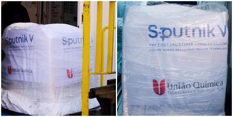 União Química exporta para Rússia lotes da vacina Sputnik produzidos no Brasil