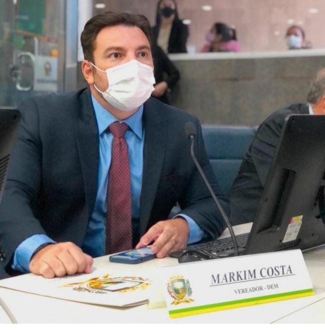 Vereador Markim Costa desiste de recurso e se mantém fora do DEM
