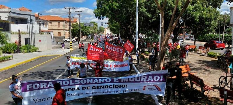 Fora Bolsonaro ocorre em todos os estados do Brasil