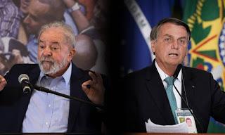 Lula tem 46% e Bolsonaro, 25%, no 1º turno, aponta pesquisa Datafolha