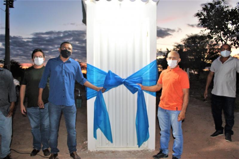 Eliseu Martins: Moradores da comunidade Sucupira comemoram inauguração de poço