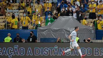 Argentina vence Copa América, e Messi conquista 1º título pela seleção principal
