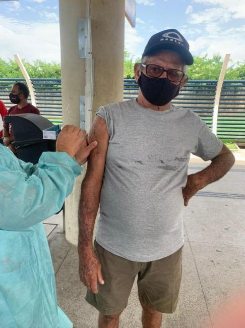 Família procura idoso desaparecido nesta manhã de Quarta-feira( 21) em Teresina.