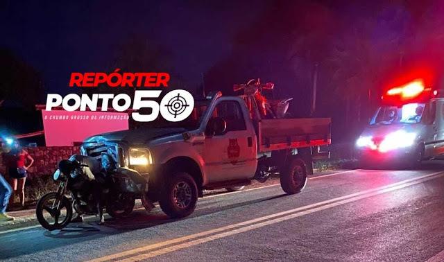 Motoqueiro morre após ser arrastado por 300 metros por caminhonete no litoral do Piauí