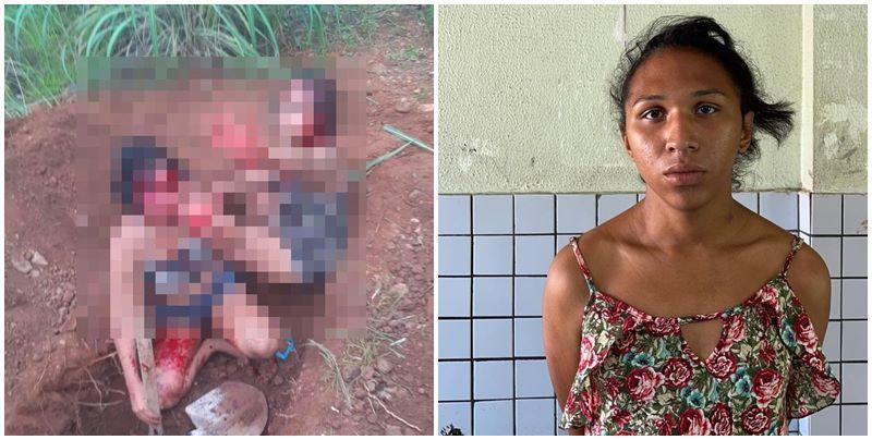 Travesti é a sétima presa pela morte de garotas que cavaram as próprias covas
