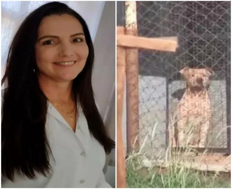 Mulher morta após ser atacada por seis pitbulls é velada em caixão fechado: 'Foi massacrada',diz tio