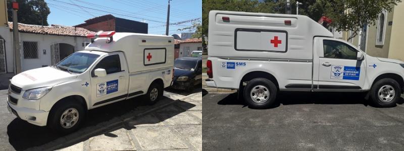 Prefeitura de Cabeceiras realiza a reforma completa em ambulância que volta a servir a população