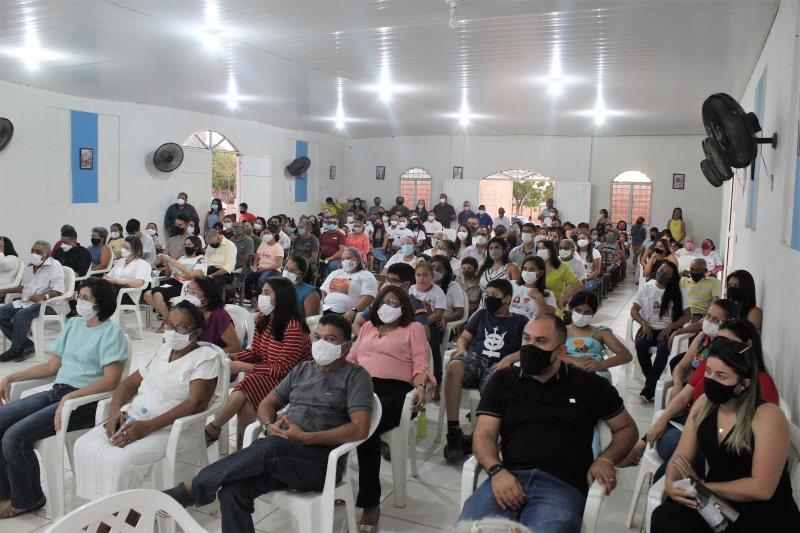 Missa de 01 mês de falecimento do Ex-Prefeito Raimundo José Crispim
