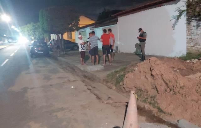 10 pessoas do Estado do Ceará são feitas reféns durante  arrastão no centro de José  de Freitas_PI