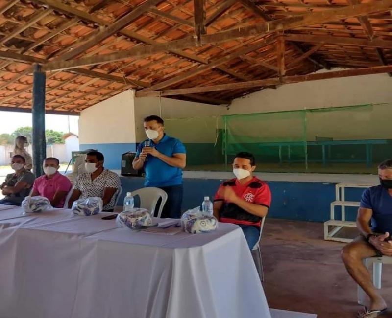 Prefeitura de Curimatá marca data da final do campeonato municipal após parada devido a pandemia