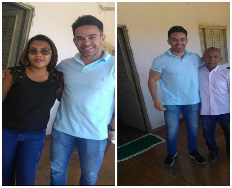 Deputado Estadual B. Sá Filho visita Redenção do Gurguéia na manhã desta segunda-feira (26)