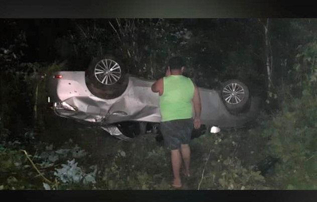 Cantor Paulinho Paixão sofre acidente na BR-316, no Piauí