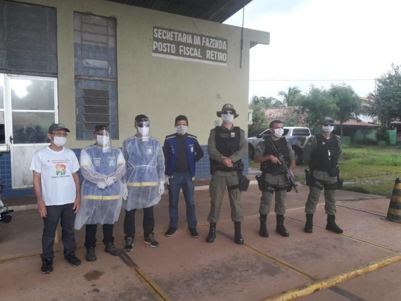 Ciptur e Vigilância Sanitária iniciam fiscalização na divisa Luis Correia/Ceará