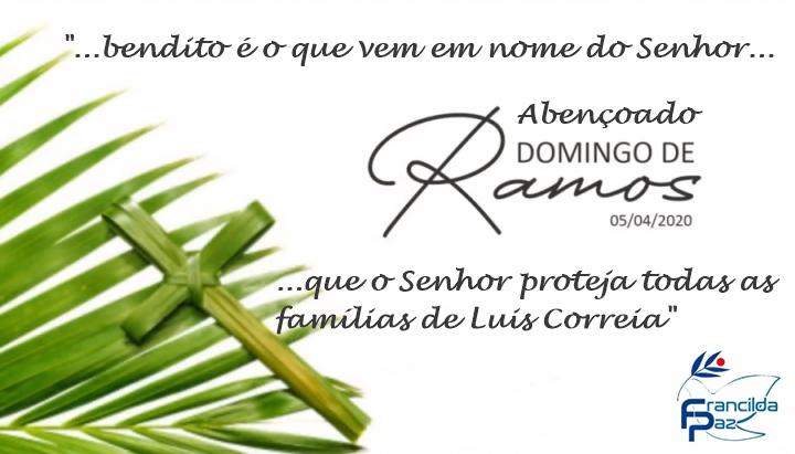 Mensagem da Vereadora Francilda Paz de Luis Correia