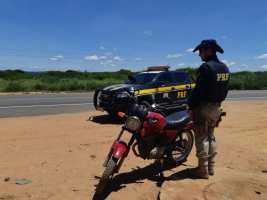 Motocicleta roubada há mais de 10 anos em SP é recuperada no Piauí
