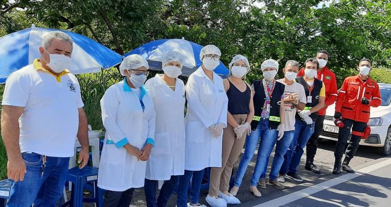 Barreiras Sanitárias Continuam sendo Realizadas em Valença do Piauí.
