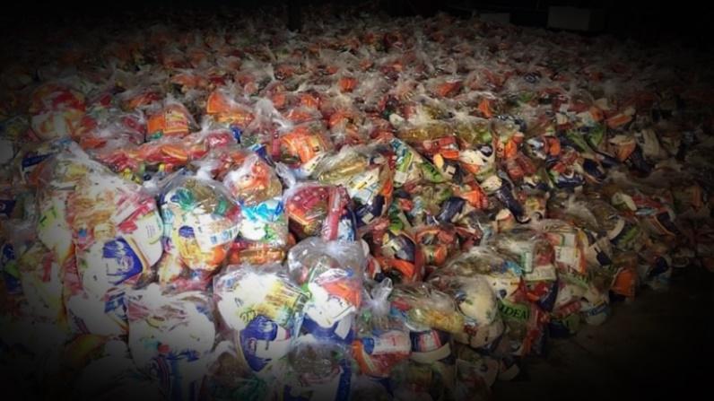 Coronavírus: Prefeitura distribui mais de 3 mil cestas básicas em Palmeirais