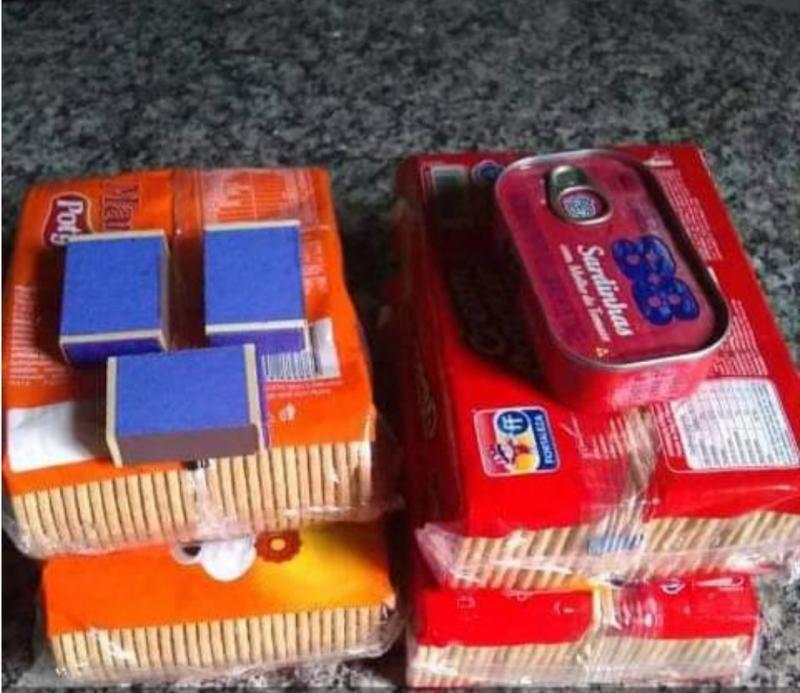 Em meio à pandemia, famílias recebem biscoitos e sardinhas para sobreviver em Curralinhos